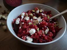 Céklás bulgur feta sajttal Recept képpel - Mindmegette.hu - Receptek Feta, Acai Bowl, Healthy Lifestyle, Oatmeal, Vegetarian, Breakfast, Ethnic Recipes, Bulgur, Acai Berry Bowl