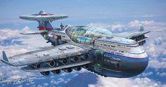 Sizce geleceğin uçakları böyle olabilir mi?