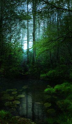 Verdant ~by `Emerald-Depths ✯ http://emerald-depths.deviantart.com/art/Verdant-294018338