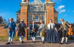 Join us this Saturday, February 18 for an elegant evening of music in the candlelit ballroom of the Governor's Palace. Colonial Williamsburg, Palace, Virginia, February, Join, Elegant, Music, Dapper Gentleman, Musica