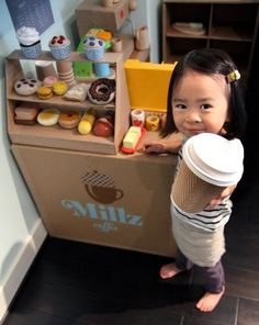 I already have a cutie pie I can put in an apron but still needing the cardboard coffee stand!