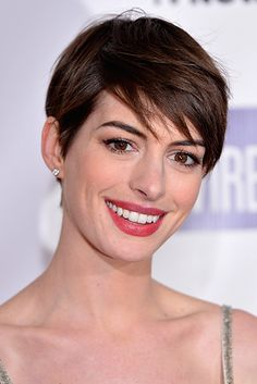 Anne Hathaway | The 18 Greatest Celebrity Pixie Cuts Of The Past Decade