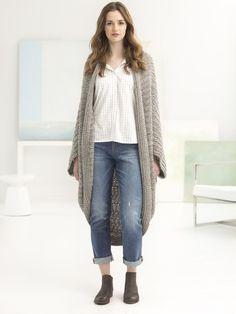 Crochet Kit - Quick Cocoon - Lion Brand Yarn