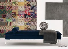 Cool Idea to Decorate Your Home with Patchwork Wall Mural #myloview #collection