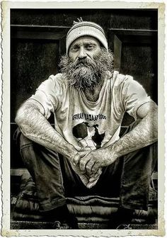 Pastor Jeremiah Steepek (pictured) transformed himself into a homeless person...  Click through to read the facts about this urban legend at Snopes.