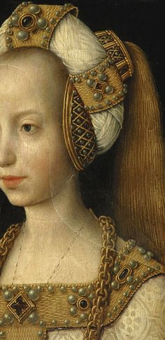 Mary of Bourgogne (1457-1482) https://hemmahoshilde.wordpress.com/2015/07/05/mary-of-burgundy-a-padded-roll-model/ <--- you're welcome to read more about Mary of Burgundy on my blog :).