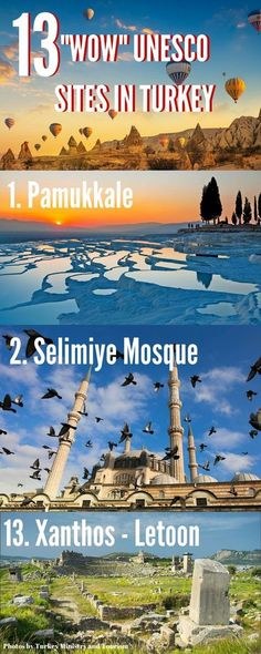 """out 13 amazing UNESCO sites in Turkey that will make you go """"Wow. - Calculating Infinity -Check out 13 amazing UNESCO sites in Turkey that will make you go """"Wow. Turkey Vacation, Turkey Travel, Turkey Tourism, Pamukkale, Turkey Destinations, Travel Destinations, Places To Travel, Places To See, Pictures Of Turkeys"""