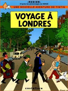 Superb cover signed Yves Rodier, recalling the cover of the Beatles Abbey Road