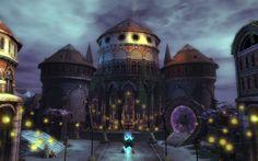 Guild Wars 2 Landscape - Halloween 2012!