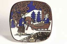 1996 Kalevala levy Pot Holders, Decorative Plates, Ceramics, Tableware, Beautiful, Home Decor, Objects, Ceramica, Pottery
