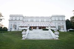 Rosecliff Mansion Wedding In Newport RI