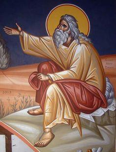Saint Elias Religious Icons, Religious Art, Church Icon, Religious Paintings, Biblical Art, Byzantine Icons, Saints, Art Icon, Jesus Is Lord