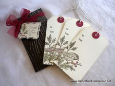 Beautiful Season Gift Tags : Susan's Blog