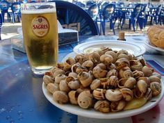 """Caracois à Portuguesa (Portuguese-style Snails)- An American In #Portugal: 5 """"Strange"""" Portuguese Foods that I've Grown to Love (And Think You Should Try Too)"""