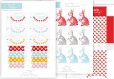 Kit à imprimer Pâques