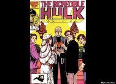 Incredible Hulk wedding cover