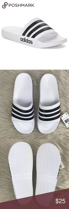 2884b8e907ef Men s Adidas Cloudfoam Sandals Slides Brand new in box. Super comfortable  and perfect for your