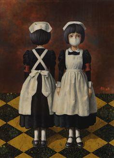 Surrealism and Visionary art: Masaru Shichinohe High Art, Pop Surrealism, Visionary Art, Japanese Artists, Surreal Art, Dark Art, Fantasy Art, Art Drawings, Illustration Art