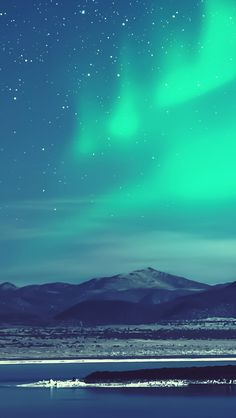 Polar Aurora #iPhone #5s #Wallpaper