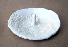 Lace Ring Holder by dgordon on Etsy, $14.00