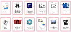 Dzieckiem bądź: Prawa dziecka DO DRUKU Wardrobe Color Guide, Blog, Blogging