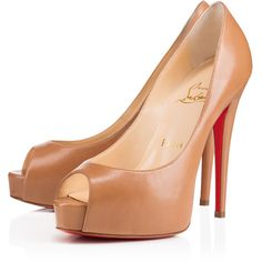 "Christian Louboutin Vendome ""Maya"" ($845) ❤ liked on Polyvore"