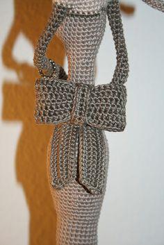 Ravelry: Annagurumi's Miss Béatrice  Made using Parisian Lady Figurine crochet pattern by Pertseva for LittleOwlsHut  #LittleOwlsHut, #Amigurumi, #CrochetPattern, #Pertseva