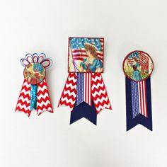 4th of july ribbon crafts