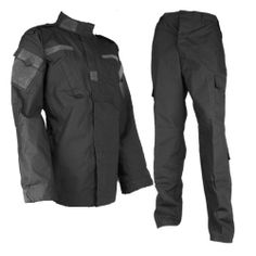Swat Team Tactical BDU Uniform -- what the men wear beneath a vest and their gear