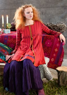 """""""Karenina"""" cardigan in cotton & wool – Belarus – GUDRUN SJÖDÉN – Webshop, mail order and boutiques 
