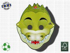 Masque Publicitaire Crocodile