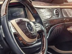 Mercedes-Benz S-Class Work Prior Design, Full With Crocodile Leather