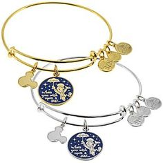 Disney Jiminy Cricket ''When You Wish Upon a Star . . .'' Bangle by Alex and Ani | Disney Store
