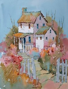 Joyce Hicks Baltimore Watercolor Society Demo Part III