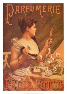 ~ Affiche, Parfumerie - Félix Potin ~