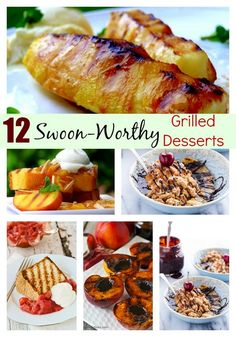 12 Swoon-Worthy Grilled Desserts