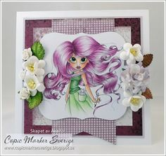Copic Marker Sweden: Inspiring purple ...