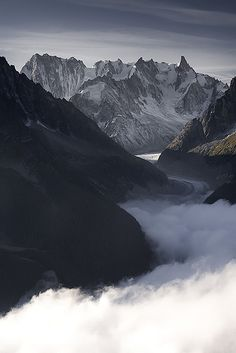 Vallée blanche...Alps France
