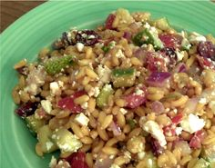 Kamut Berry Salad... I would probably try with wheat berries, quinoa, or even couscous