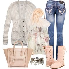 """Graceful Pale Pink"" by debbie-probst on Polyvore"