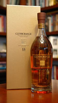 The Glenmorangie 18 Extremely Rare Scotch Whisky.  It's extremely good (and one of Stephen's favorites).