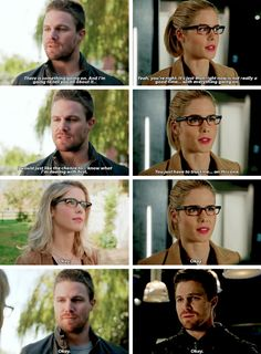 Arrow 4x08|5x16 - Keeping secrets doesn't end well - #OliverQueen #FelicitySmoak #Olicity
