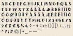 1950s fonts -