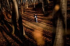 Denisa and Raul are celebrating their love in this beautiful forest near Cluj Napoca.