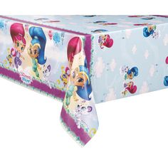 Shimmer and Shine Table Cover | Shimmer and Shine Party Decorations