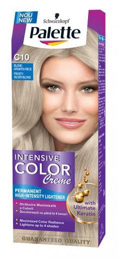 Vopsea de par Palette intensive color creme c10 blond argintiu rece - 9.29 lei