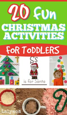 Super fun Christmas activities from LalyMom that you can do with your toddler! These ideas are great to be able to spend some one-on-one time with your toddler, spending special holiday time together. With Christmas just around the corner, it is time to plan for festive activities to share with the kids. Enjoy these fun Christmas activities. #christmas #toddler #toddleractivities #christmasactivities #christmasactivitiesfortoddlers #toddlerchristmas #christmasgames