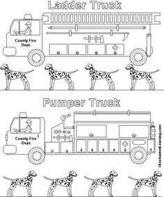 fire truck pictures to color Fire truck coloring page Awesome