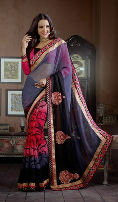 We are one of the eminent names of the business to bring forth an unlimited compilation of Designer Sarees. These lightweight sarees are vastly popular for their supreme finishing, eye-pleasing designs and engaging looks. Procured from our trustworthy vendors, these designer sarees are easy to wash and maintain. Our esteemed customers can obtain these at affordable rates.