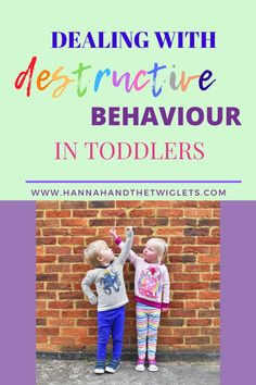 Destructive behaviour in toddlers can be difficult to deal with. I'm struggling with my son's tendency to break/rip/destroy absolutely everything! Step Parenting, Gentle Parenting, Parenting Advice, Baby Development Milestones, Baby Milestones, Kids Behavior, Child Behaviour, Colic Baby, Strong Willed Child